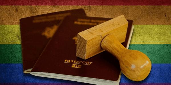 דרכון אירופאי מסעיר את הקהילה הגאה